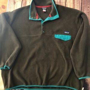 Vintage Patagonia men's XXL fleece pullover